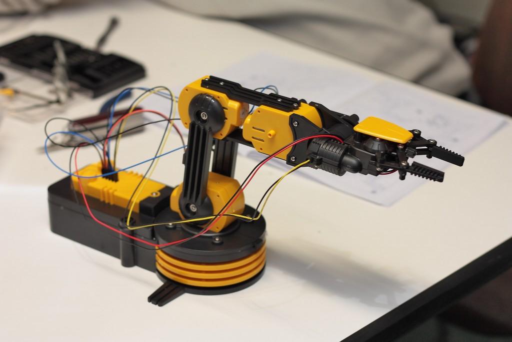 Robotique chez Kelle FabriK, fablab Dijon