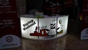 Souvenirs du deuxième startup WE de Dijon
