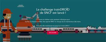 #CONCOURS trainDROÏD : révolutionnez la maintenance SNCF !