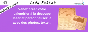Ateliers Lady Fablab