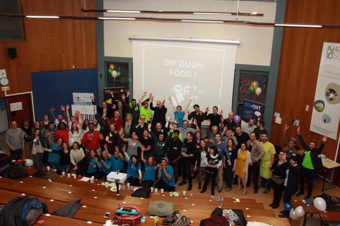 Le Start Up Weekend de Dijon, une réussite collective !