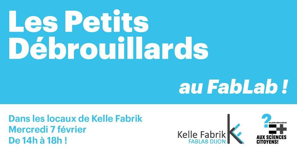Kelle FabriK accueille l'association des Petits Débrouillards !