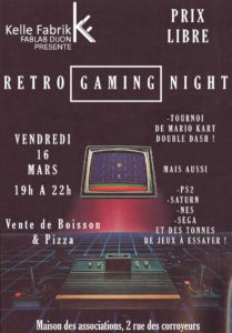 Événement Retro Gaming Night